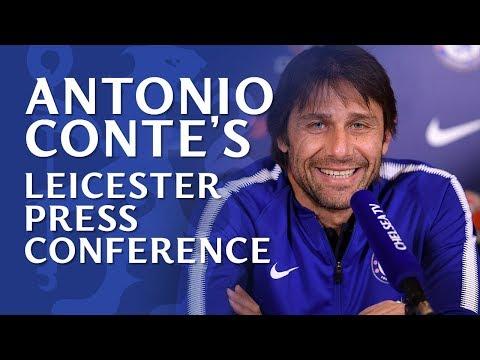 Antonio Conte Press Conference   Chelsea v Leicester