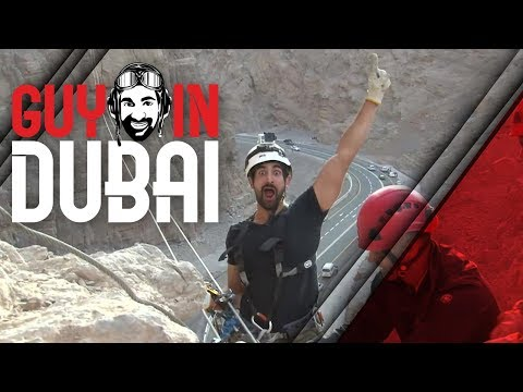 Zip Lining from Mountain Top - Jebal Jais Via Ferrata in Ras Al Khaimah (RAK)