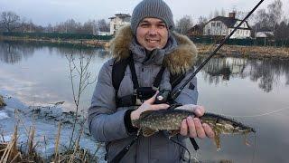 Видео-отчет рыбалка 18 03 2017 или мелкие щуки подмосковья
