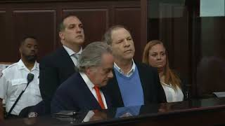 Accused rapist Harvey Weinstein released on bail thumbnail