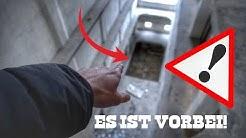 LEBENSGEFÄHRLICH! WENN DU HIER FÄLLST, IST ES VORBEI! | Die verlassene Getreidemühle - LOST PLACE