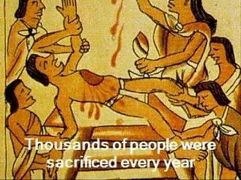 Aztec religion and religious sacrifice