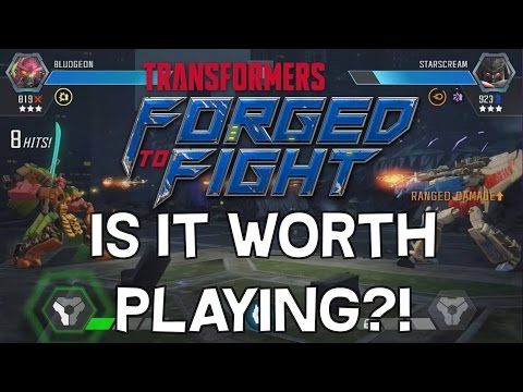 Transformers: Forged To Fight - Is It Worth Playing? - April 5th Release Date + Beta Thoughts So Far