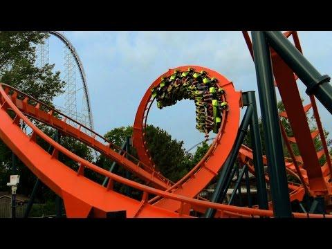 Rougarou off-ride HD Cedar Point