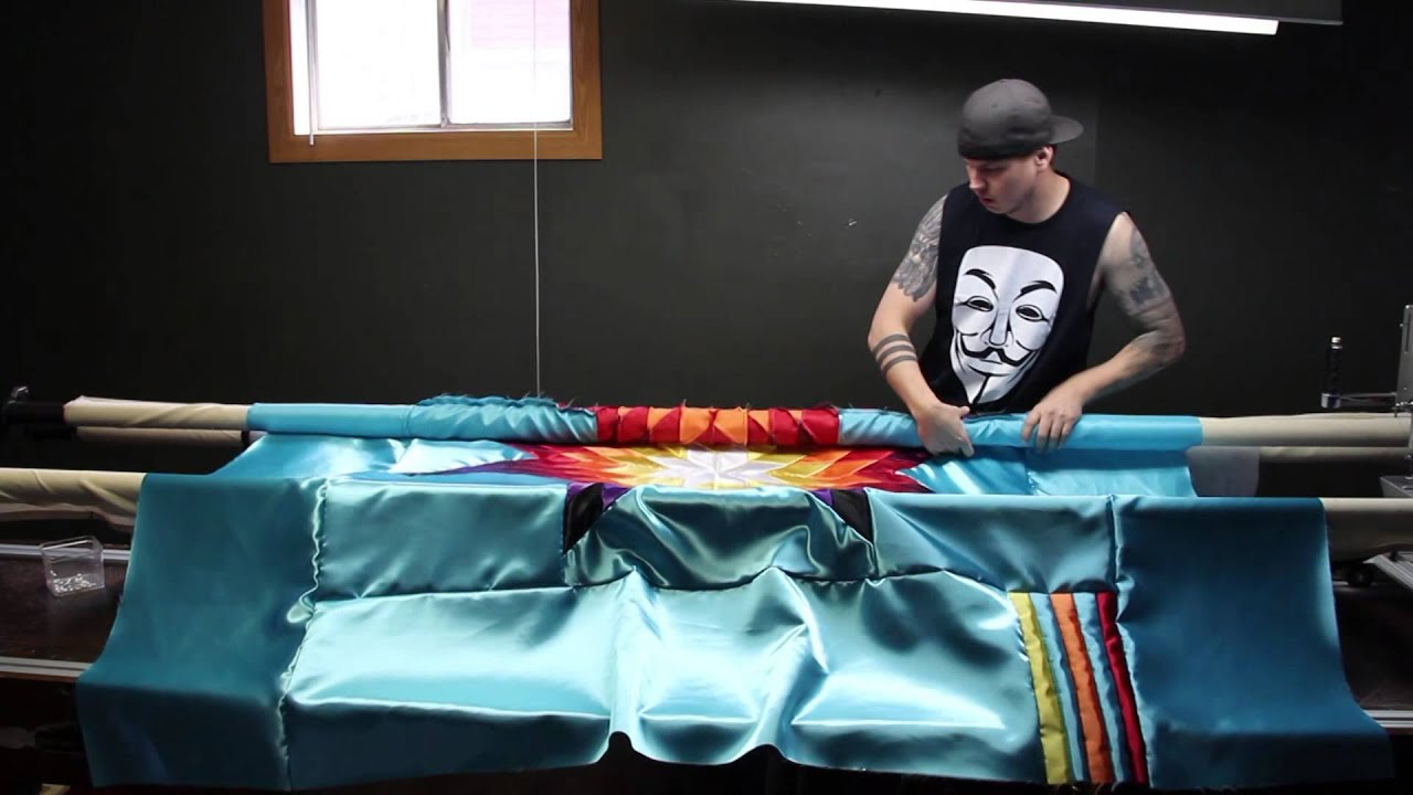 How To Make A Native American Star Quilt Youtube