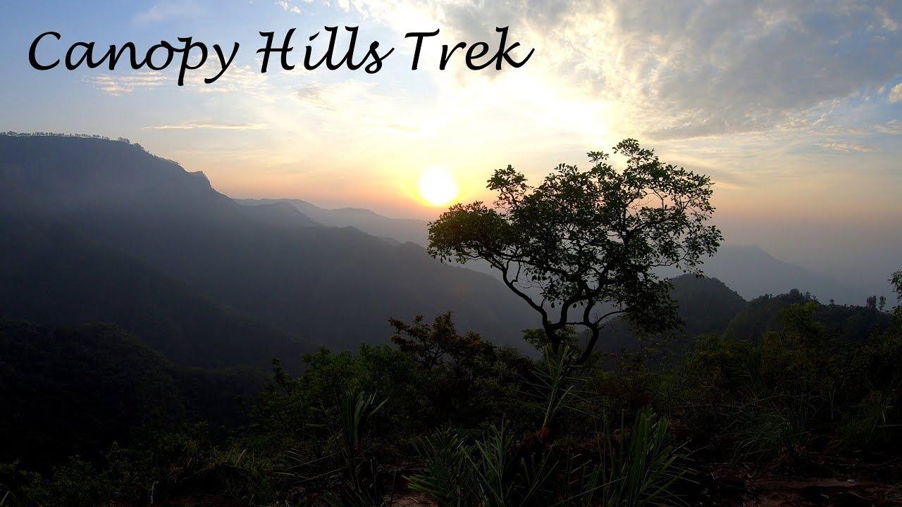 Canopy Hills Trek Vattakanal 27th April 2019 4k Youtube