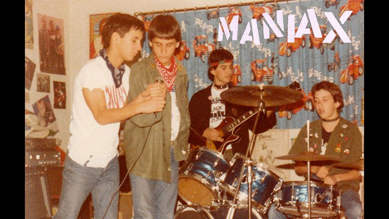 Maniax-Suburban Teen Punk 1980-1982 - YouTube