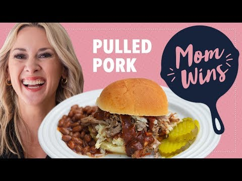 How to Make Slow-Cooker Pulled Pork with Bev Weidner | Mom Wins