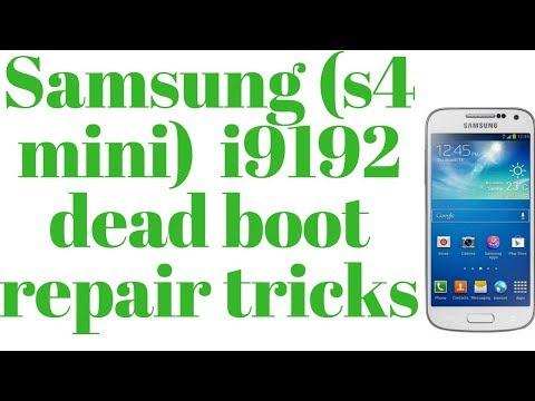 Samsung S4 mini i9192 dead boot repair tricks 100%Done - YouTube