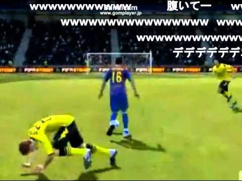 腹筋崩壊するサッカーゲームのバグ集(高画質)