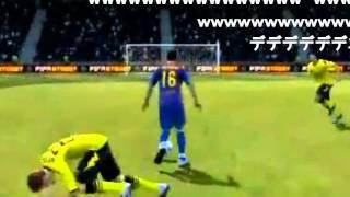 腹筋崩壊するサッカーゲームのバグ集(高画質) thumbnail