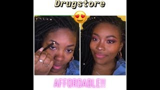 AFFORDABLE everyday makeup routine using drugstore products!!