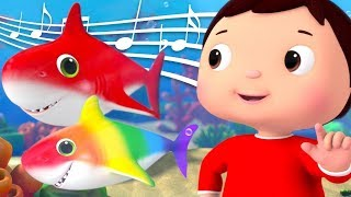 Learning Colors WIth Rainbow Baby Shark! Little Baby Bum | Nursery Rhymes & Kids Songs | ABC & 123