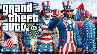 GTA 5 Online - 4TH OF JULY SPECIAL! (Firework Show, Demo Derby, and More!)