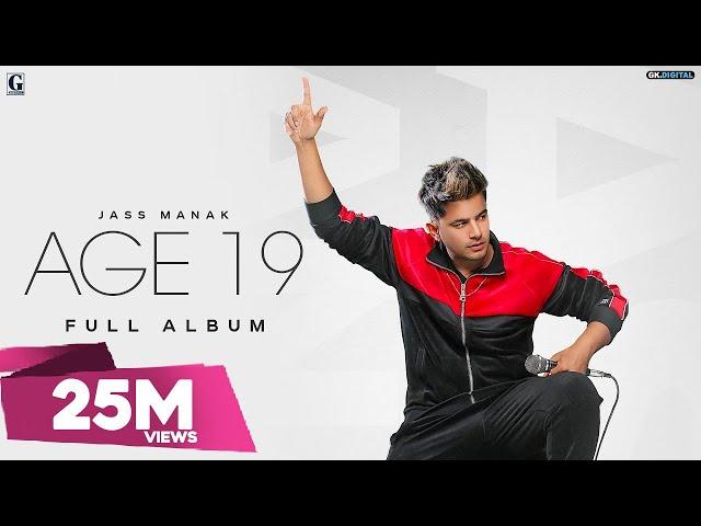AGE 19 : JASS MANAK (Full Album) Divine Gully Boy | Bohemia | GK.DIGITAL | Geet MP3