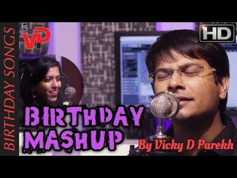 """BIRTHDAY MASHUP REMIX..जन्मदिन नान्स्टॉप Songs 