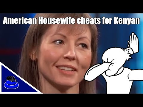American Housewife Cheats On Husband For A Kenyan On Dr. Phil