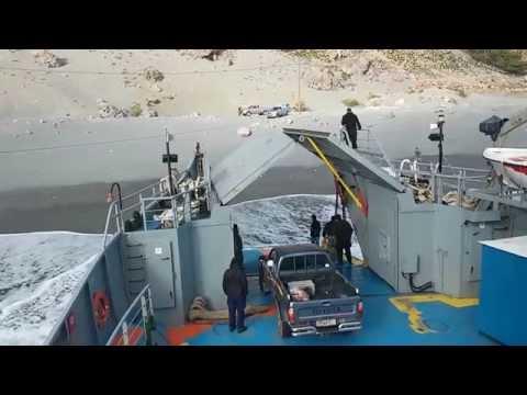 Οι δυσκολίες της ακτοπλοΐας στη Νότια Κρήτη - The difficulties of ferry traffic in South Crete