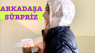 Arkadaşa Sürpriz Vlog. Ecrin Su Çoban