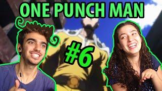 ONE PUNCH MAN episódio 6 - REAÇÃO