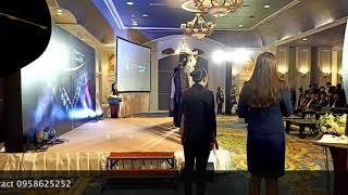พิธีกรภาษาอังกฤษ - ไทย พิธีเปิดงาน 65th Bangkok Gems and jewelry fair และพิธีมอบรางวัลมิตรแท้การค้า