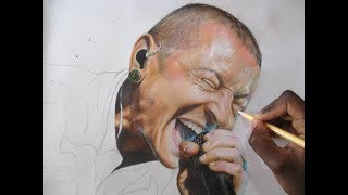 Drawing Chester Bennington || Tribute to Chester Bennington