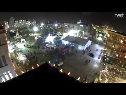 Frisco Merry Main Street - 2018 Tree Lighting And Event And Light Show Time Lapse