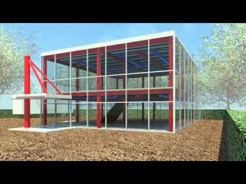 Clifford o reid architect small office building design for Office building plans and designs