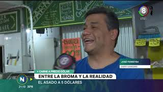 Video: Una carnicería vende a precio dólar