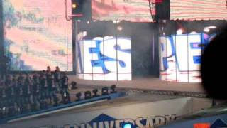 Entrance of John Cena | Wrestlemania 25