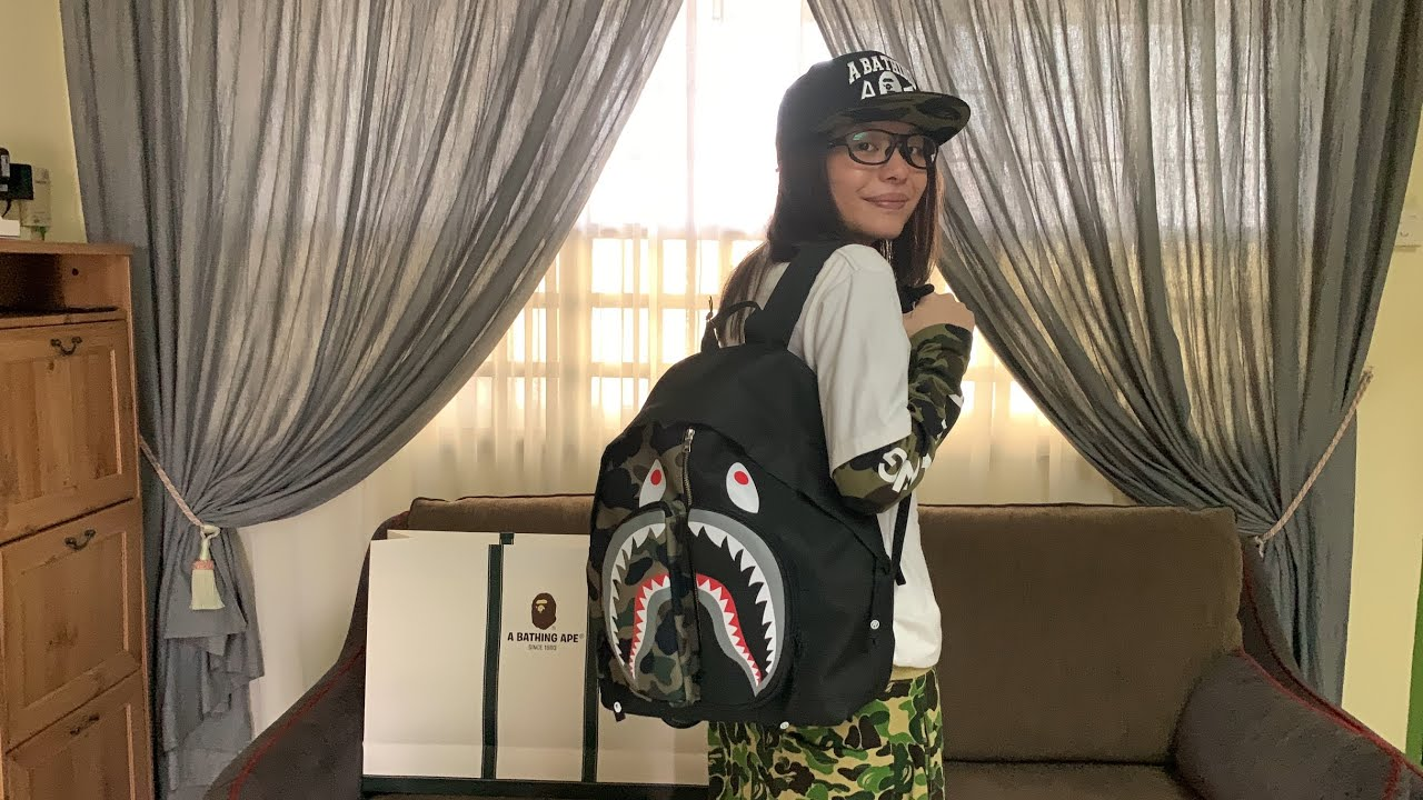 Unboxing 1st Camo Shark Day Pack