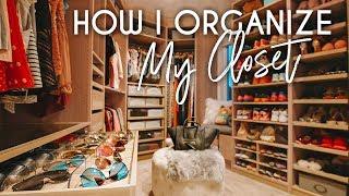 How I Organize My Closet   Clean up & Storage Hacks
