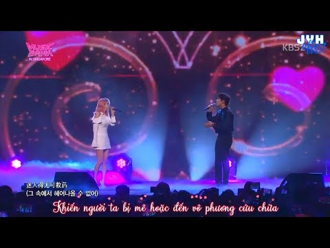 [Vietsub] Yonghwa ft Solar - Little Dimples @Music Bank in Singapore {JYHeffectvn}