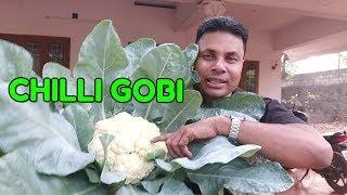 CHILLI GOBI/HOW TO MAKE CHILLI GOBI/EASY/TASTY