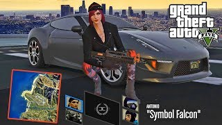 أخيرا بعد طول انتظار قراند 5 باتل رويال | GTA V Battle Royale