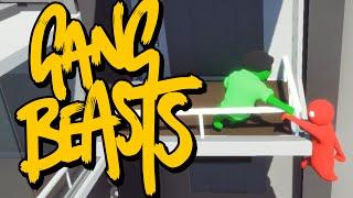 Gang Beasts - СЕМЕЙНЫЕ РАЗБОРКИ (Брейн и Даша)