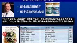 USANA网上说明会(2.为什么要用USANA营养补充品? Part#2)
