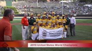 2013 LLWS - Eastlake Little League from Chula Vista, California are the U.S. Champions