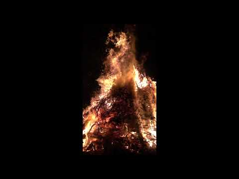 Elden på Valborg