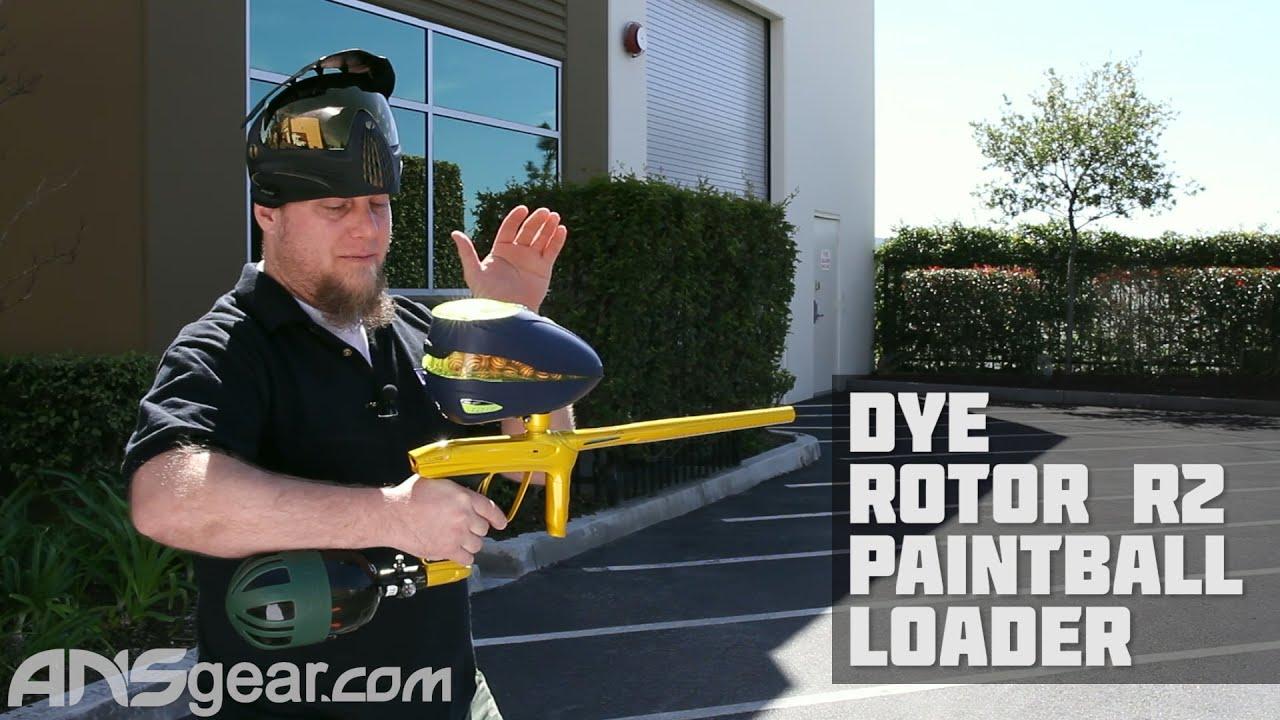 Dye Rotor R2 Paintball Loader-Woody