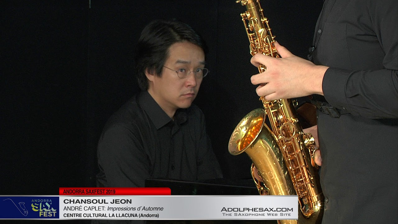 Andorra SaxFest 2019 1st Round   Chansoul Jeon  Impressions d´Automne by Andre Caplet