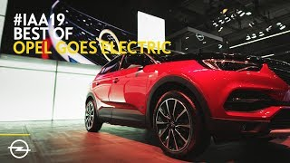 Opel at IAA 2019: The Highlights