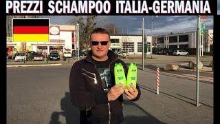 PREZZI SHAMPOO ITALIA-GERMANIA , pazzesco da noi costano il triplo !!!!