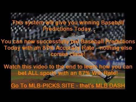 Baseball Predictions Today - Proven Win Rate of 87 68%