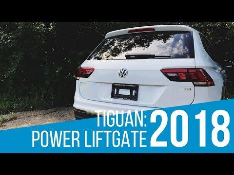 2018 Volkswagen Tiguan: Power Liftgate