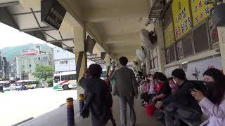 #거제도 시내버스 파업 철회후, 모습