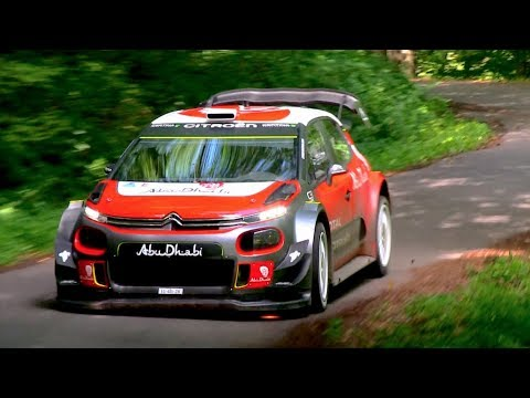 Andreas Mikkelsen  Citroën C3 WRC  Test Rallye Deutschland 2017