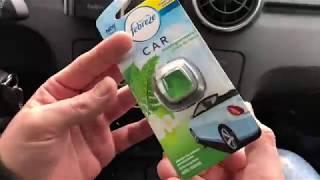 Febreze Spring Awakening Fragrance Car Air Freshener, 2 ml unboxing and instructions