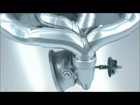 BMW TwinPower Turbo in a four cylinder engine