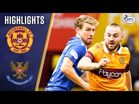 Motherwell St. Johnstone Goals And Highlights